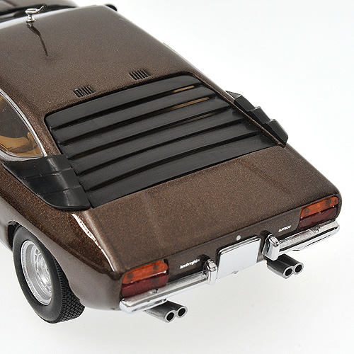 Minichamps: 1972 Lamborghini Urraco - Brown (436 103320) in 1:43 scale