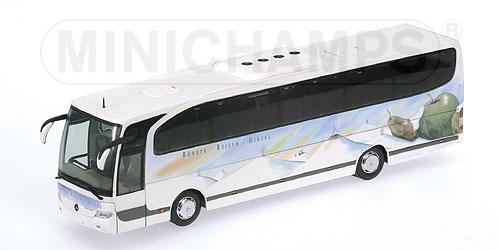 Minichamps: 2000 Mercedes-Benz Travego Bus - Buehrer (439 ...