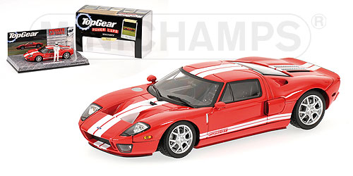 Minichamps Ford Gt Top Gear Red