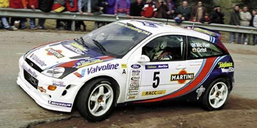 2018 Wrc Cars >> Minichamps: Ford Focus - Colin McRae - WRC 2000 - Rallye Catalunya 2000 (AC8 008905) in 1:18 ...