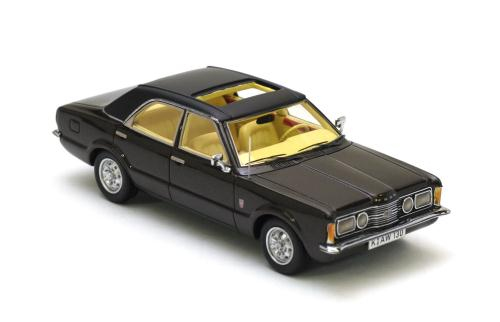 NEO Scale Models: 1973 - 1975 Ford Taunus GXL 4dr - Brown ...