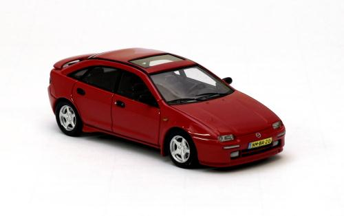 neo scale models 1994 1998 mazda 323f ba mk2 red 44520. Black Bedroom Furniture Sets. Home Design Ideas