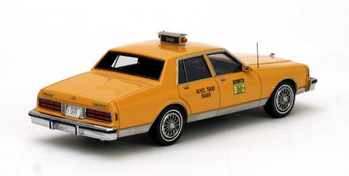 chevrolet caprice taxi 1/43