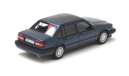 neo scale models 1992 volvo 940 gle dark blue metallic. Black Bedroom Furniture Sets. Home Design Ideas