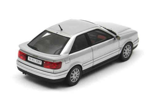 NEO Scale Models: 1994 Audi Coupe - Silver (43367) in 1:43 ...