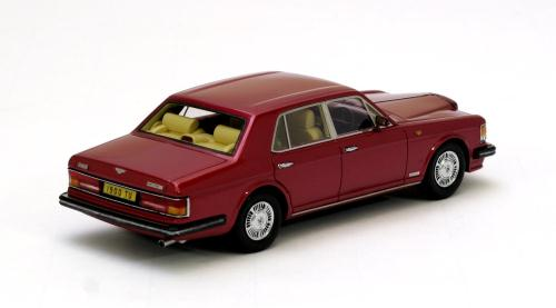 NEO Scale Models: 1989 - 1992 Bentley Mulsanne Turbo R - Red Metallic ...