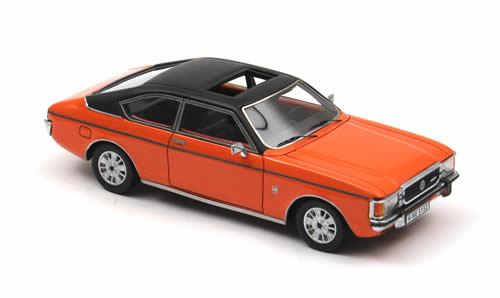 List Of Car Brands >> NEO Scale Models: 1972 Ford Granada Coupe MK1 - Orange (43132) in 1:43 scale - mDiecast