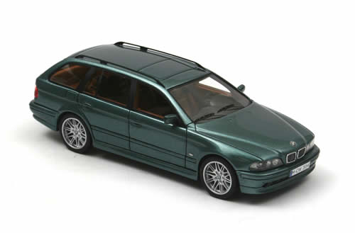 NEO Scale Models: 2002 BMW 520 (E39) Touring - Green ...