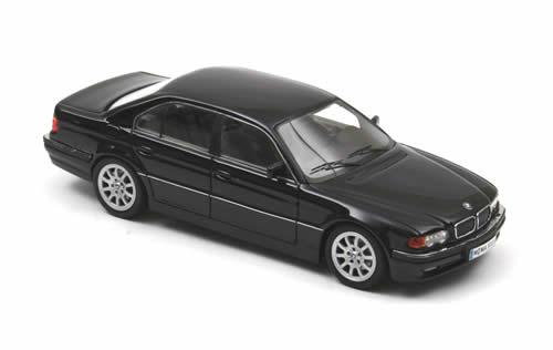 All Bmw Models >> NEO Scale Models: 2000 BMW 740i (E38) - Dark Blue (43315) in 1:43 scale - mDiecast