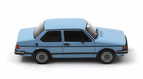 neo scale models  volkswagen jetta   door blue    scale mdiecast