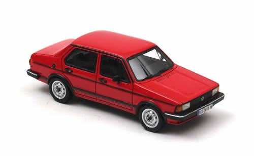 List Of Cars >> NEO Scale Models: 1980 Volkswagen Jetta I 4-Door - Red (43646) in 1:43 scale - mDiecast