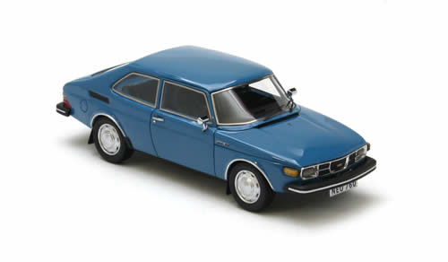 Cars All Models List >> NEO Scale Models: 1975 Saab 99 Combi Coupe - Blue (43760) in 1:43 scale - mDiecast