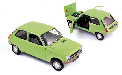 Norev: 1972 Renault 5 - Green (185155) in 1:18 scale