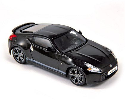 Norev 2011 Nissan 370z Gt Edition Black 420137 In 143 Scale