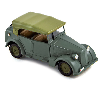 Norev: Fiat 508 Coloniale - Army Green (770063) in 1:43 scale