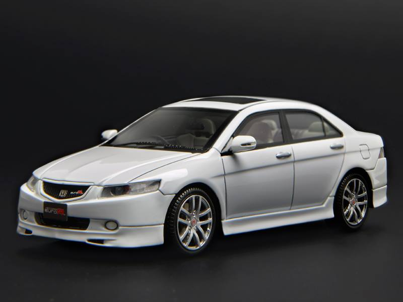 Honda Accord 2018 White >> One Model: Honda Accord Euro R CL7 - White (2) in 1:43 scale - mDiecast