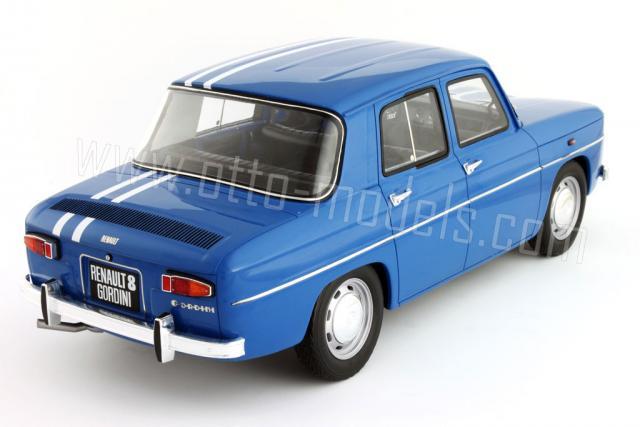 otto 1966 renault 8 gordini 126 in 1 18 scale mdiecast. Black Bedroom Furniture Sets. Home Design Ideas