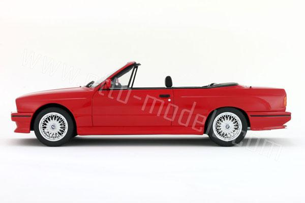 OttO: 1989 BMW M3 (E30) Cabriolet - Red (OT077) in 1:18 scale