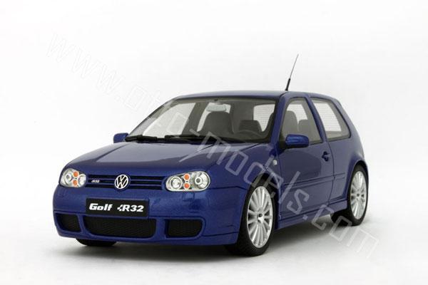 OttO: 2002 Volkswagen Golf R32 - Deep Blue Pearl (OT086) in 1:18 scale - mDiecast