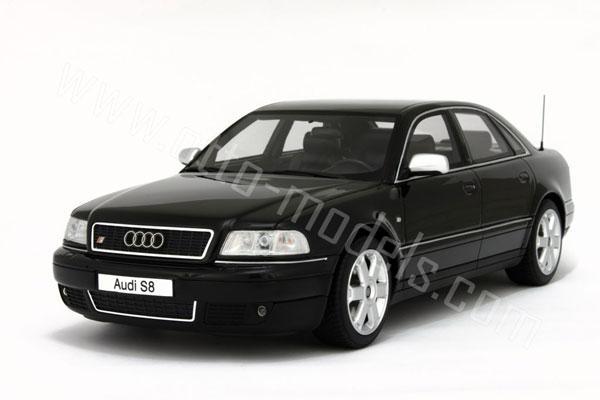 OttO: 2001 Audi S8 - Black (OT082) in 1:18 scale - mDiecast
