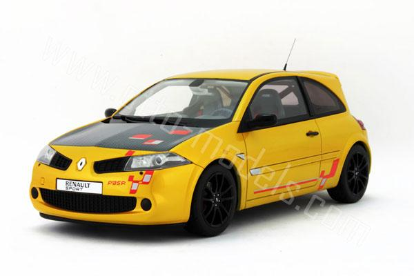 otto 2008 renault megane r26 r yellow ot556 in 1 18 scale mdiecast. Black Bedroom Furniture Sets. Home Design Ideas