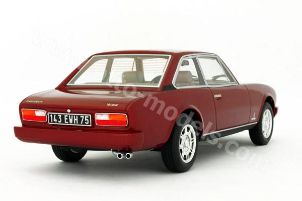 otto 1983 peugeot 504 coupe v6 red ot089 in 1 18 scale mdiecast. Black Bedroom Furniture Sets. Home Design Ideas