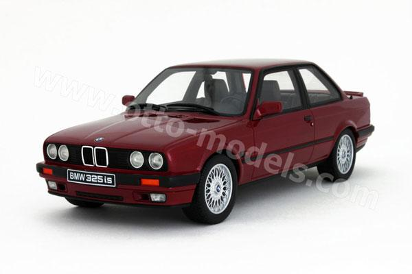 Otto 1990 Bmw 325is E30 Calypso Red Ot102 In 1 18