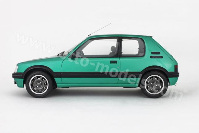 otto 1991 peugeot 205 gti griffe green 205 in 1 18. Black Bedroom Furniture Sets. Home Design Ideas