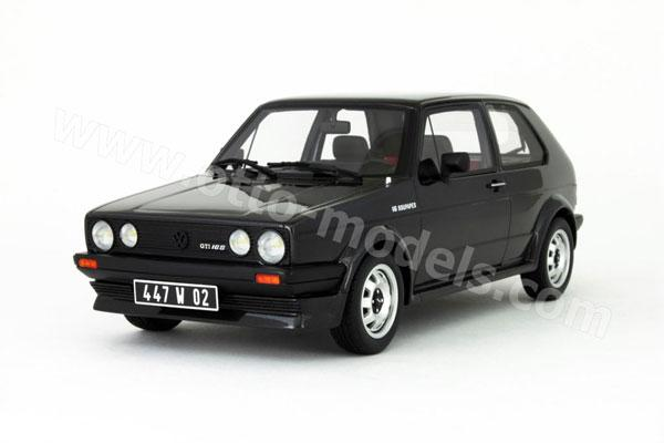 OttO: 1981 Volkswagen Golf 16S Oettinger - Black (206) in 1:18 scale