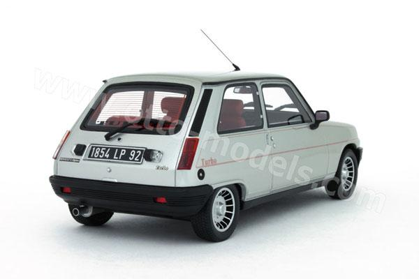 otto 1983 renault 5 alpine turbo silver 210 in 1 18 scale mdiecast. Black Bedroom Furniture Sets. Home Design Ideas