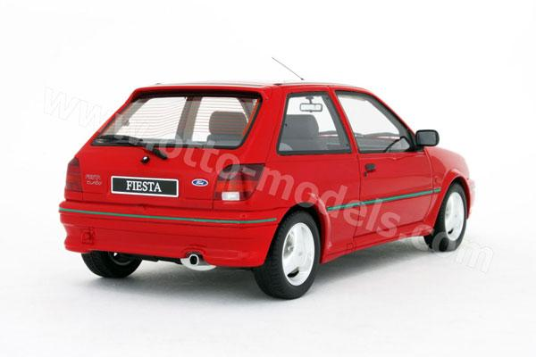 otto 1990 ford fiesta rs turbo mk3 red 211 in 1 18. Black Bedroom Furniture Sets. Home Design Ideas