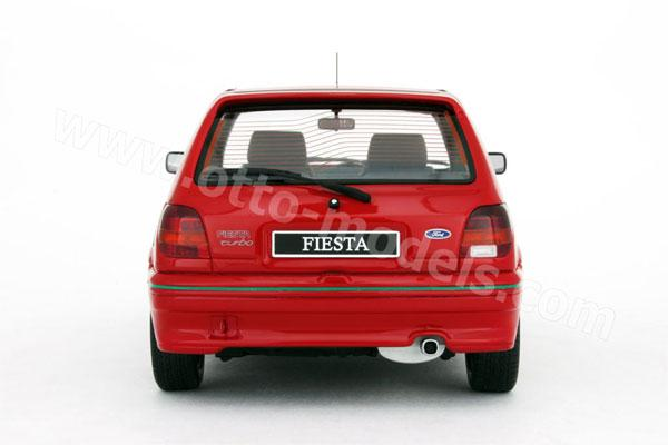 otto 1990 ford fiesta rs turbo mk3 red 211 in 1 18 scale mdiecast. Black Bedroom Furniture Sets. Home Design Ideas