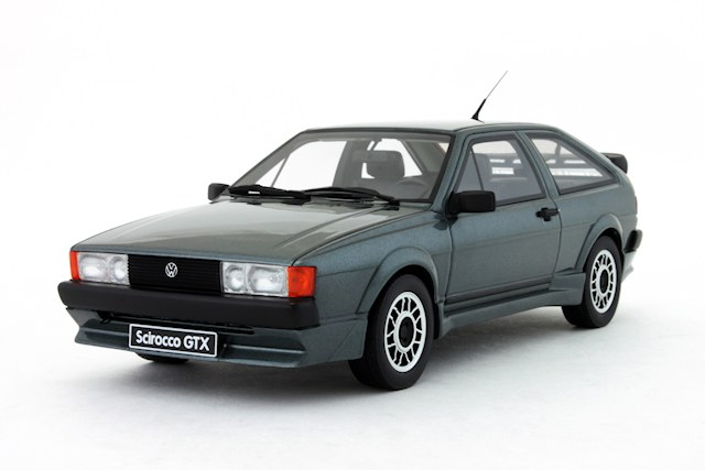 List Of Cars >> OttO: 1984 Volkswagen Scirocco GTX Kamei - Papyrus Green Metallic (OT536) in 1:18 scale - mDiecast