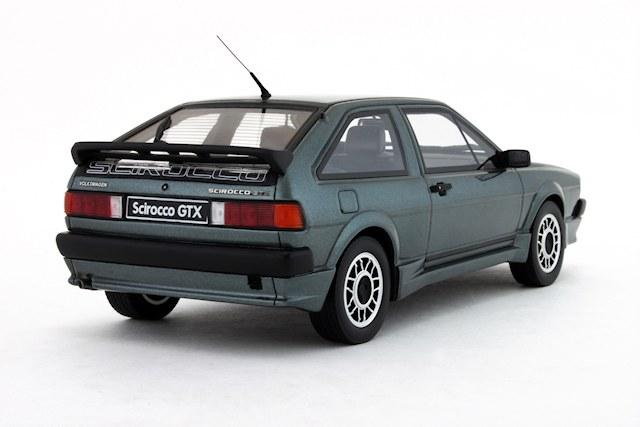 OttO: 1984 Volkswagen Scirocco GTX Kamei - Papyrus Green Metallic (OT536) in 1:18 scale - mDiecast