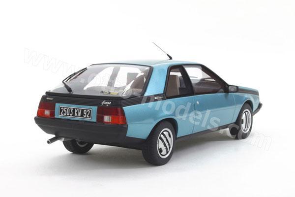 Renault Fuego GTX clair-blue Ottomobile diecast model car ... |Blue Renault Fuego