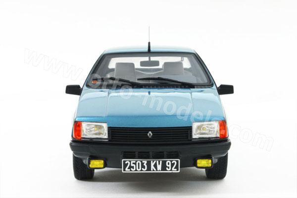1:43 Renault Fuego, blue, 1982 - 1:43 Die-Cast Collection ... |Blue Renault Fuego