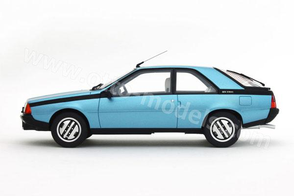Renault Fuego Blueprint - Download free blueprint for 3D ... |Blue Renault Fuego