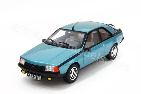 Renault | Fuego 1982 Blue Saphir | 1:43 | Solido ... |Blue Renault Fuego