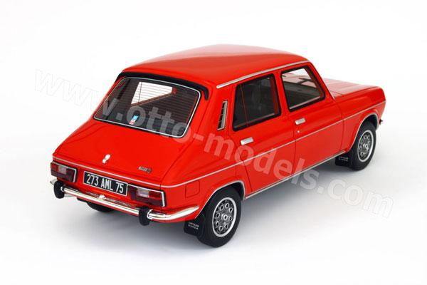 OttO: 1975 Simca 1100 Ti - Red (OT118) в 1:18 масштабе