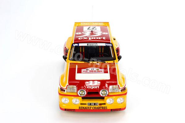 OttO: 1985 Renault R5 Maxi Turbo Tour De Corse #27 (OT603) in 1:18 scale