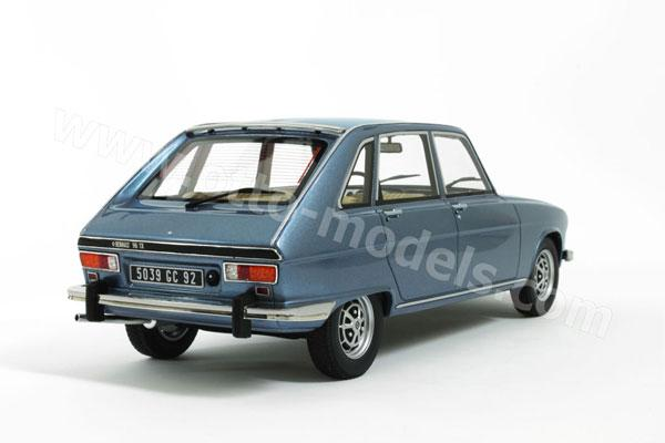 OttO: 1977 Renault 16 TX - Blue (OT587) in 1:18 scale