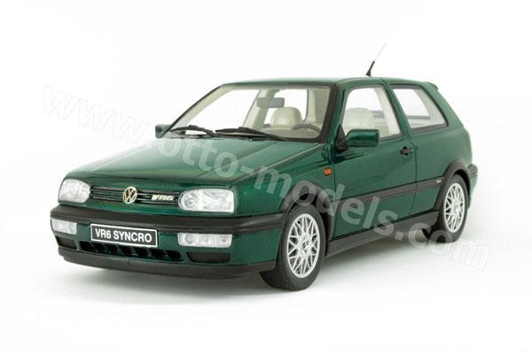 otto 1995 volkswagen golf 3 vr6 syncro green ot544 in 1 18 scale mdiecast. Black Bedroom Furniture Sets. Home Design Ideas