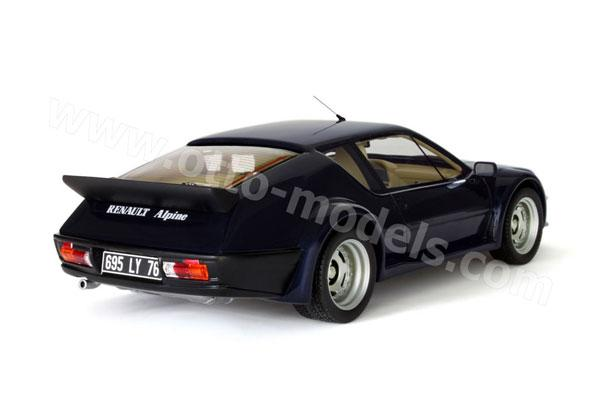 otto 1984 alpine a310 pack gt dark blue ot588 in 1 18 scale mdiecast. Black Bedroom Furniture Sets. Home Design Ideas