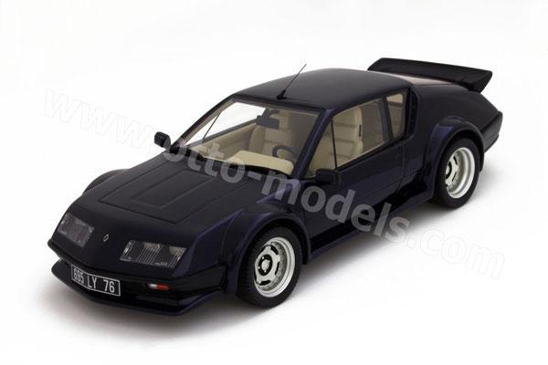 otto 1984 alpine a310 pack gt dark blue ot588 in 1 18. Black Bedroom Furniture Sets. Home Design Ideas