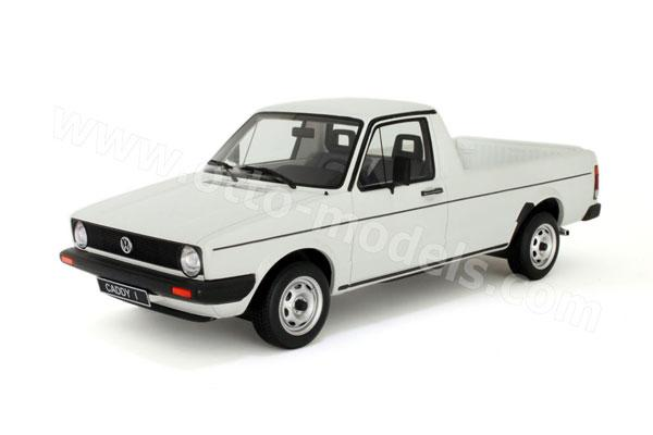 Otto 1980 Volkswagen Caddy Pick Up White Ot119 In 1