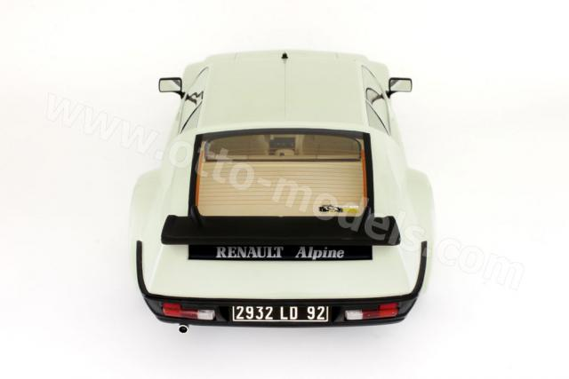otto 1982 alpine a310 pack gt white 231 in 1 18 scale. Black Bedroom Furniture Sets. Home Design Ideas