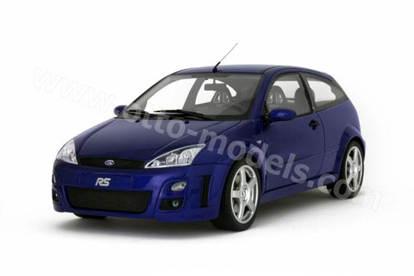 Otto 2002 Ford Focus Rs Mk1 Blue Ot128 In 118 Scale Mdiecast