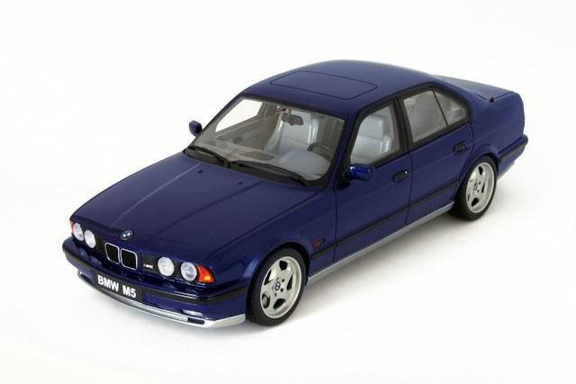 Otto 1992 Bmw M5 E34 Avus Blue Metallic Ot576 In 1