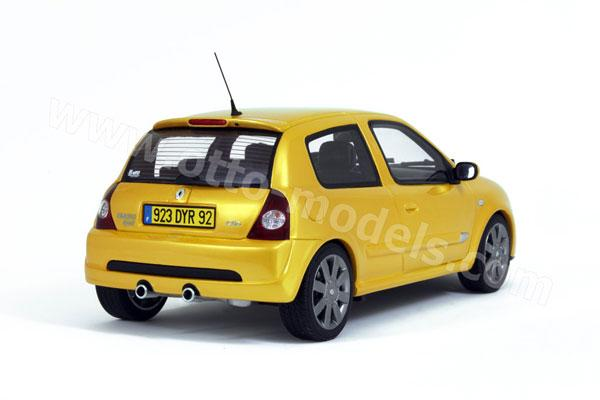 otto 2004 renault clio 2 rs phase 3 yellow 245 in 1 18 scale mdiecast. Black Bedroom Furniture Sets. Home Design Ideas