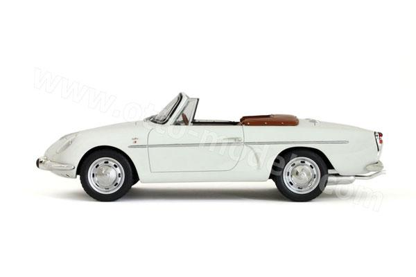 otto 1961 alpine a110 cabriolet white 247 in 1 18 scale mdiecast. Black Bedroom Furniture Sets. Home Design Ideas